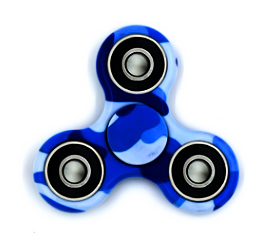Fidget Spinner (blue warrior)